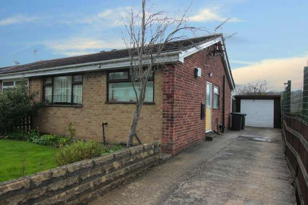 2 Bedrooms Semi Detached Bungalow for sale in Oakdale Drive, Bradford, West Yorkshire, BD10 0JF