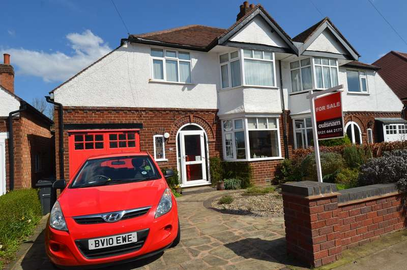 3 Bedrooms Semi Detached House for sale in Peacock Road, Kings Heath , Birmingham, B13