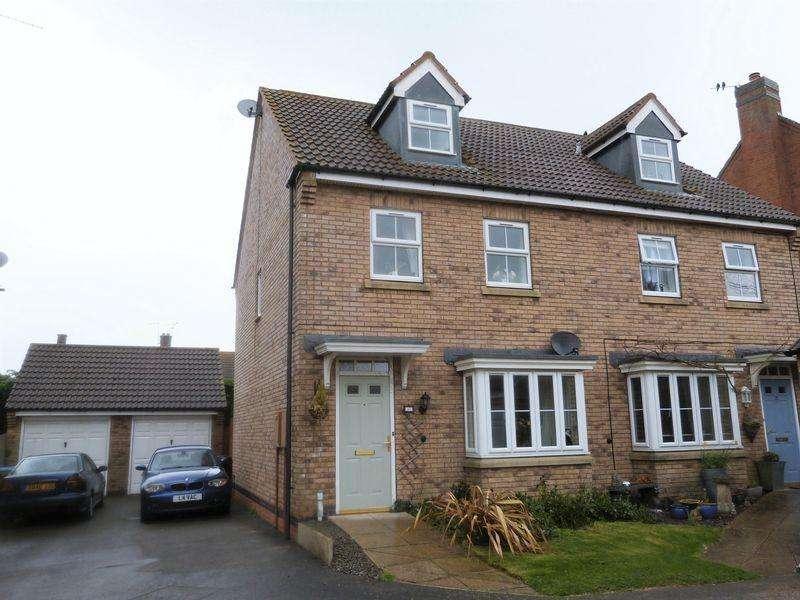 3 Bedrooms Semi Detached House for sale in Weare Close, Billesdon