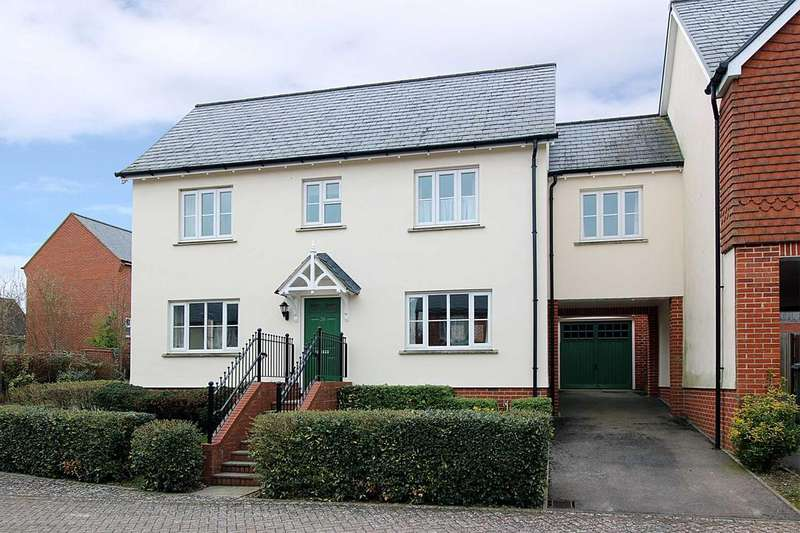 4 Bedrooms Link Detached House for sale in Overton Hill, Overton RG25