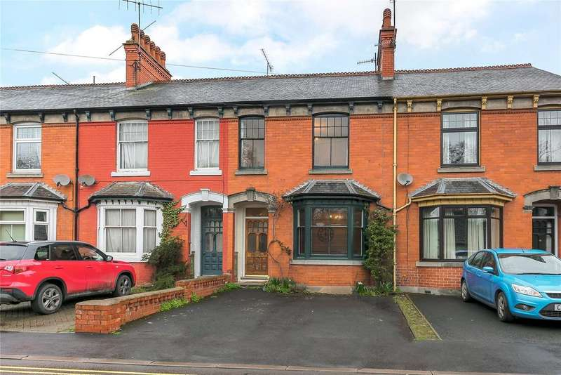 3 Bedrooms Terraced House for sale in Clifton Villas, Temeside, Ludlow, Shropshire