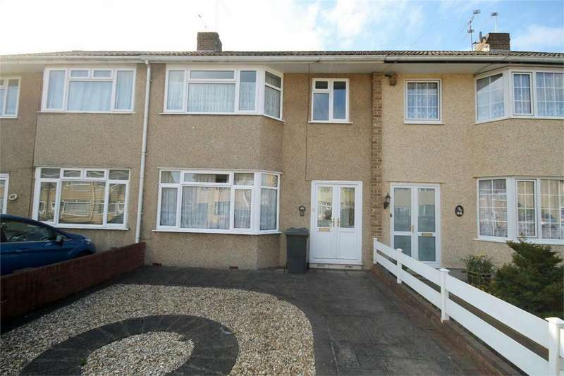 3 Bedrooms Terraced House for sale in Queensholm Crescent, Downend, Bristol