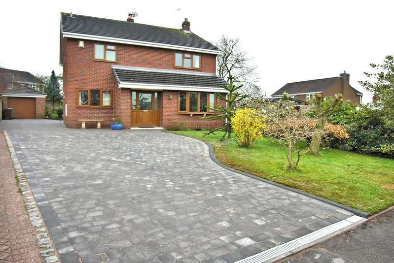 3 Bedrooms Detached House for sale in SHARMAN WAY, GNOSALL, STAFFORD ST20