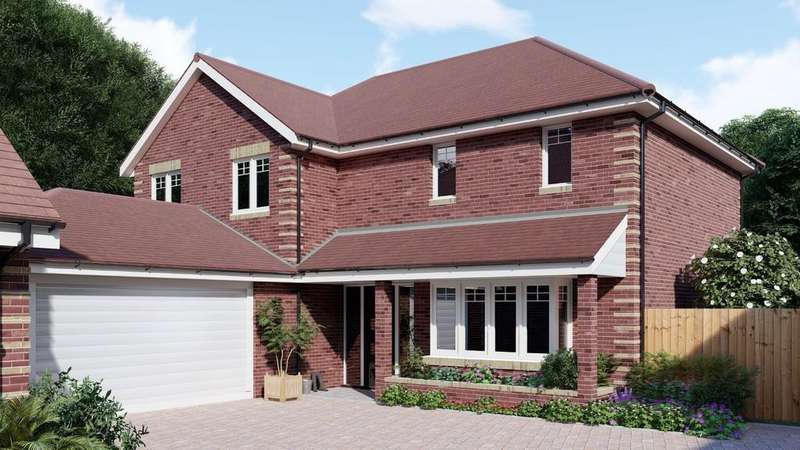 4 Bedrooms Detached House for sale in Maple Gardens, Sandy Lane, Verwood
