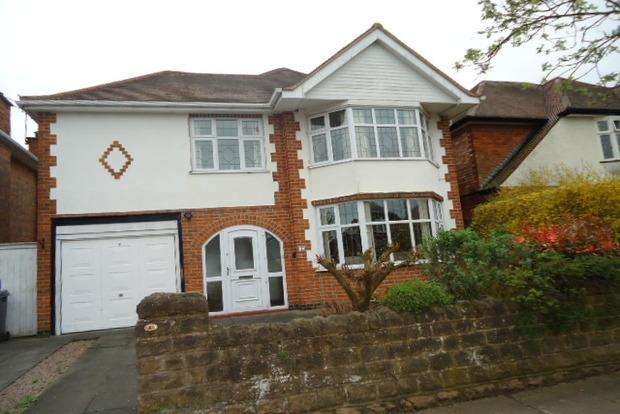 4 Bedrooms Detached House for sale in Hilders Road, Western Park, Leicester, LE3