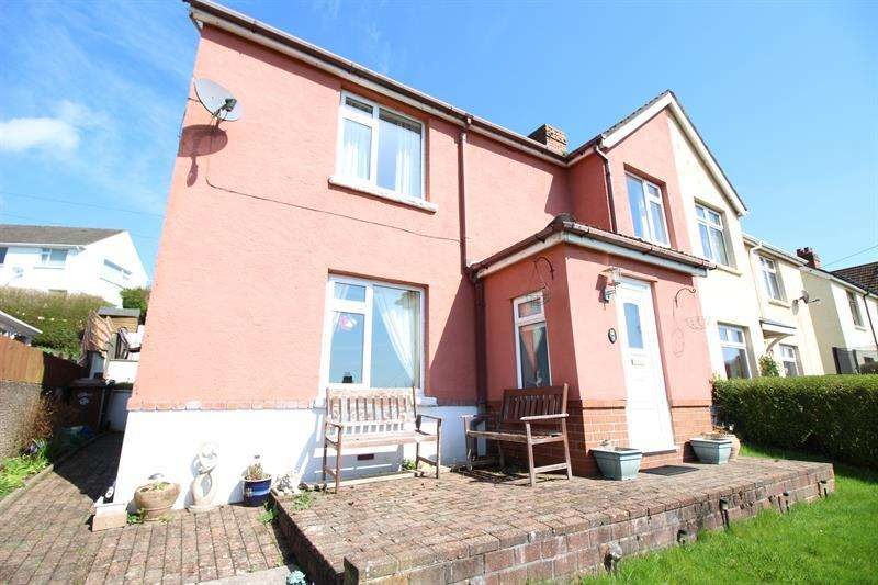 3 Bedrooms Semi Detached House for sale in Brynhyfryd Terrace, Machen, Caerphilly