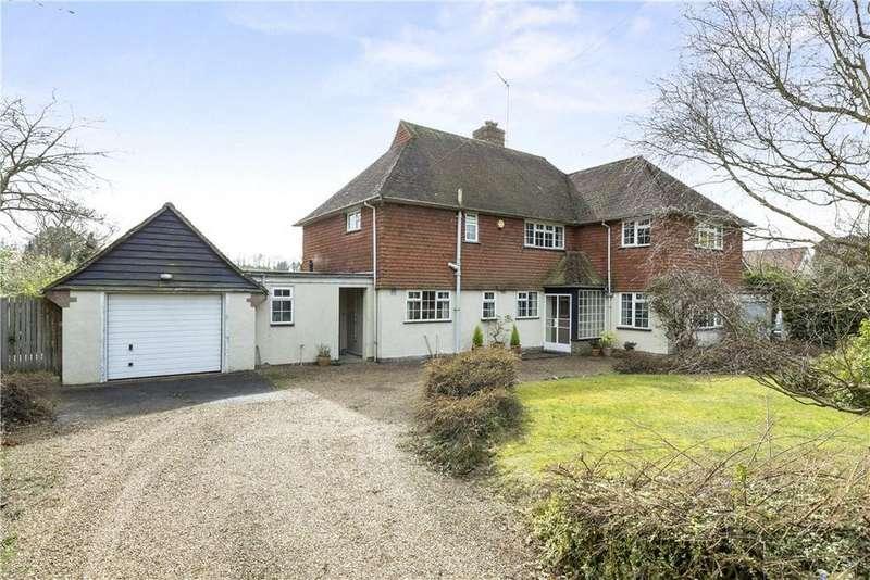 4 Bedrooms Detached House for sale in Warren Road, Guildford, Surrey, GU1