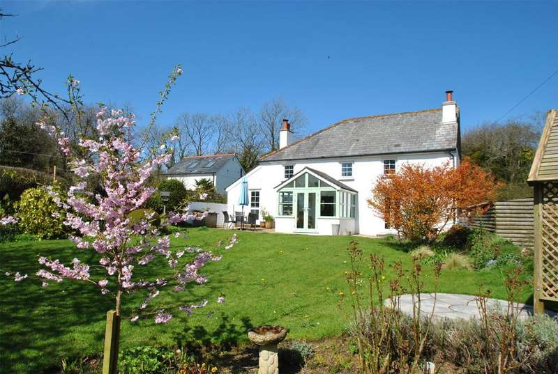 4 Bedrooms Detached House for sale in Sutcombe, Holsworthy