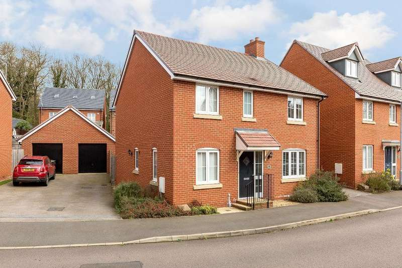 4 Bedrooms Detached House for sale in Ryefield, Ampthill, Bedfordshire, MK45 2GW