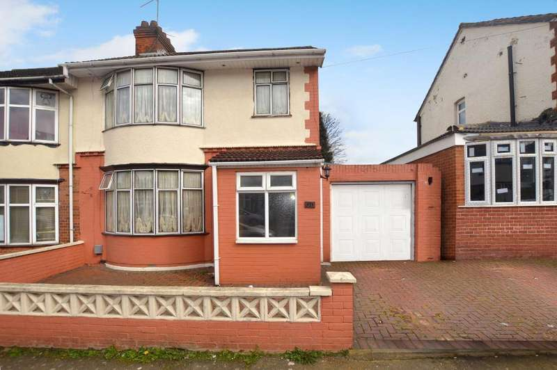 3 Bedrooms Semi Detached House for sale in Douglas Road, Luton, Bedfordshire, LU4 8EB