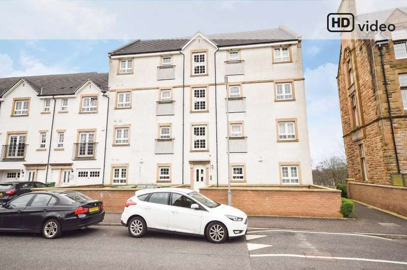 2 Bedrooms Flat for sale in Parklands Oval, Flat 0/1, Crookston, Glasgow, G53 7UD