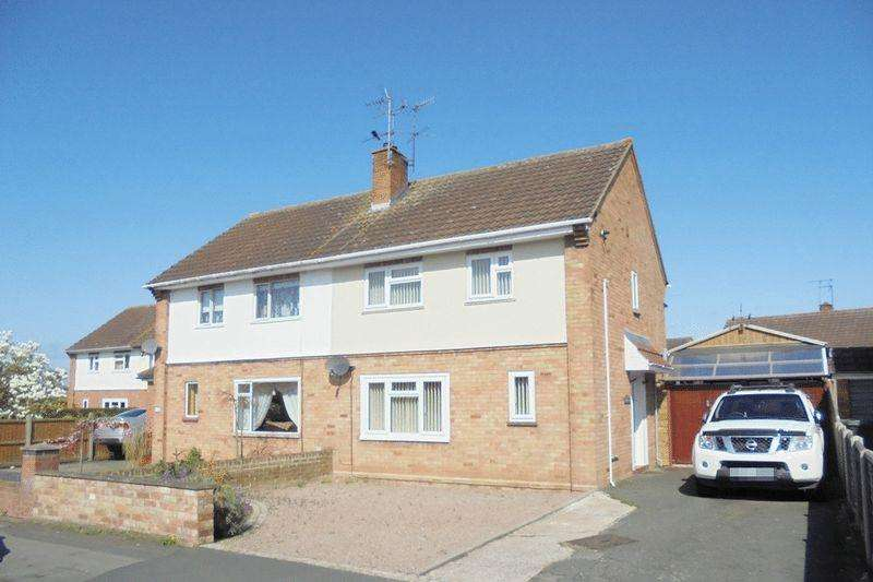 3 Bedrooms Semi Detached House for sale in Rudge Road, Evesham, WR11 4JR