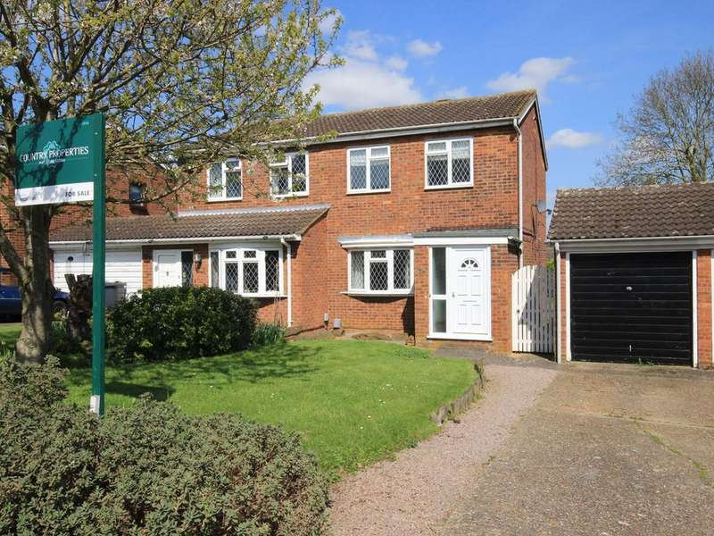 2 Bedrooms Semi Detached House for sale in Osprey Road, Flitwick, MK45