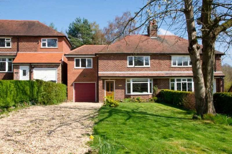 4 Bedrooms Semi Detached House for sale in Forest Edge, Mouldsworth, CH3 8AJ