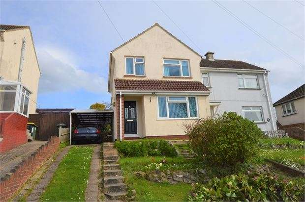 3 Bedrooms Semi Detached House for sale in Windsor Avenue, Newton Abbot, Devon. TQ12 4DW