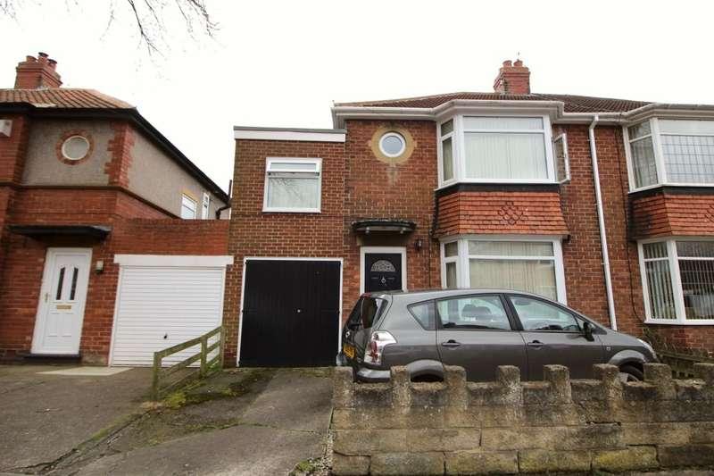 3 Bedrooms Semi Detached House for sale in Ridgewood Villas, Newcastle Upon Tyne, NE3
