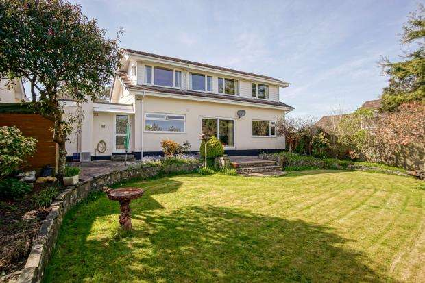 4 Bedrooms Detached House for sale in Coombe Drive, Cargreen, Saltash, Cornwall