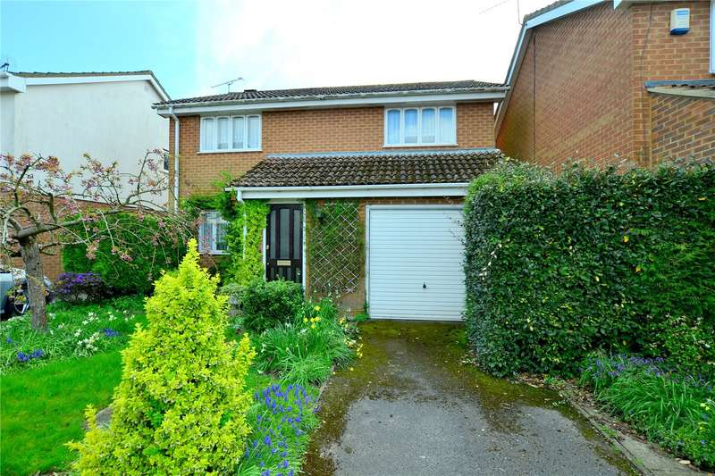 4 Bedrooms Detached House for sale in Ashburn Garth, Hightown, Ringwood, Hampshire, BH24