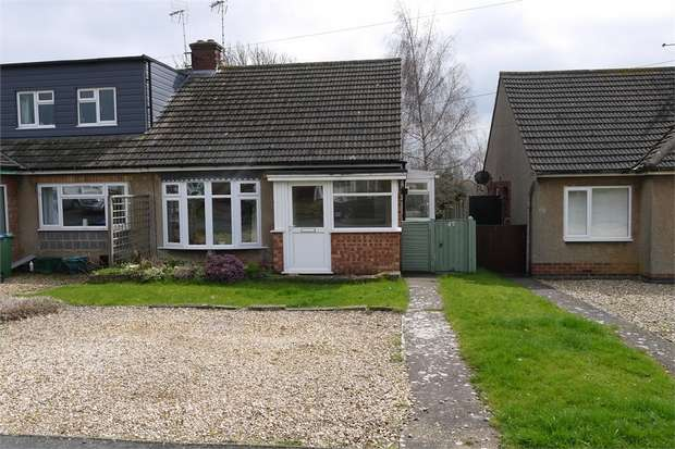 2 Bedrooms Semi Detached Bungalow for sale in Hammond Way, MARKET HARBOROUGH, Leicestershire