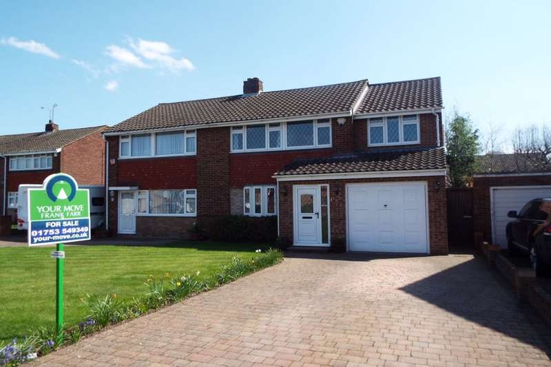 4 Bedrooms Semi Detached House for sale in Thames Road, Langley, Slough, SL3