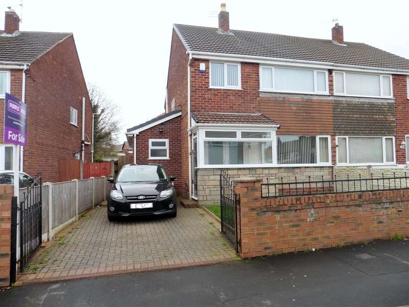3 Bedrooms Semi Detached House for sale in Montgomery Close, Whiston, Prescot