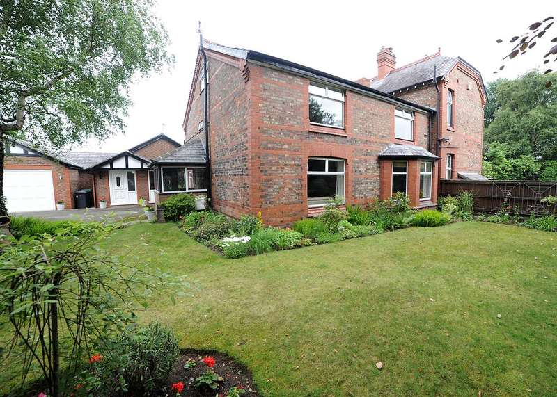 Semi Detached House for sale in Elmhurst Farmhouse and The Buttery, Hollins Green, Warrington WA3 6LL