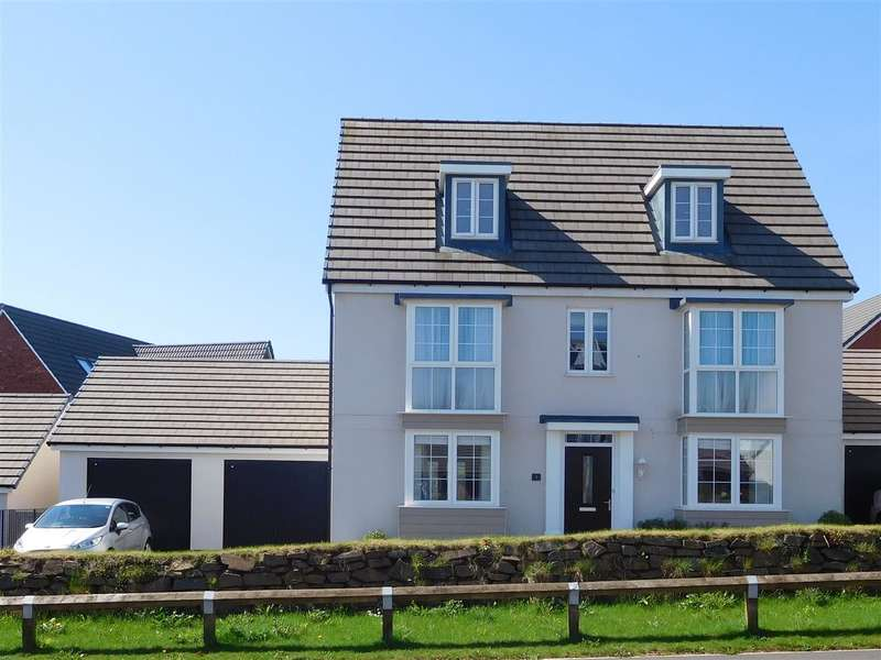 5 Bedrooms Detached House for sale in Newcourt Way, The Rydons, Exeter