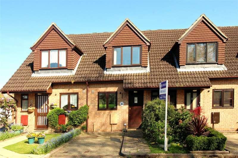 2 Bedrooms Terraced House for sale in Priestly Gardens, Woking, Surrey, GU22