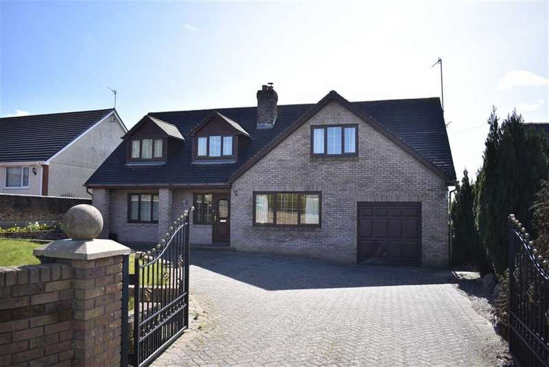 4 Bedrooms Detached House for sale in Meinciau Road, Mynyddygarreg