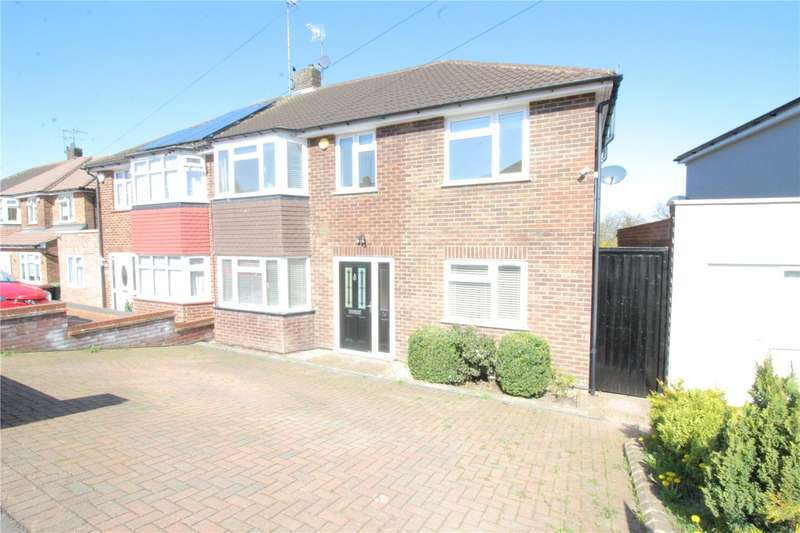 4 Bedrooms Semi Detached House for sale in Lullington Garth, Borehamwood, Hertfordshire, WD6