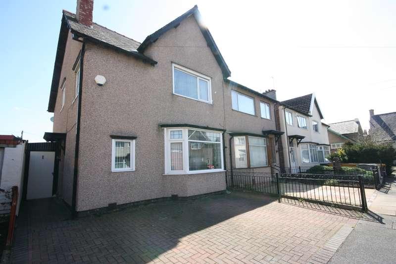 3 Bedrooms House for sale in Hylton Avenue, Wallasey, CH44 5XA