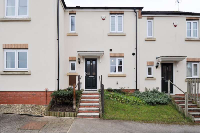 2 Bedrooms Terraced House for sale in Dixon Close, Redditch, B97