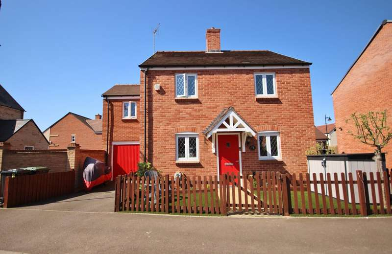 4 Bedrooms Detached House for sale in Falldor Way, Ampthill, Bedford, MK45