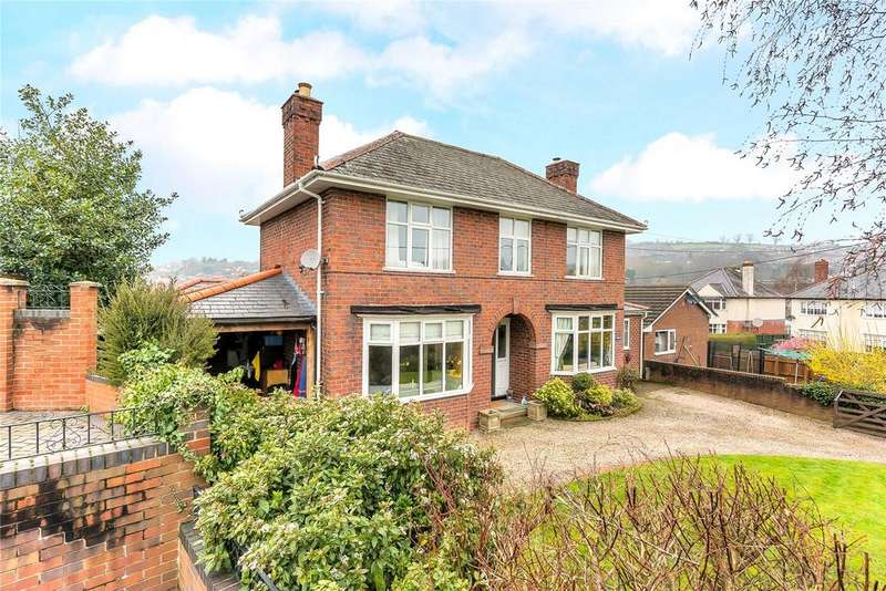 4 Bedrooms Detached House for sale in Erw Wen, Welshpool, Powys
