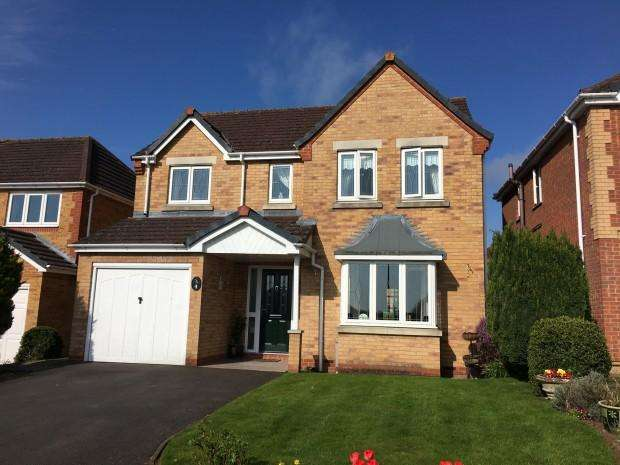 4 Bedrooms Detached House for sale in Darcy Gardens, Melton Mowbray, LE13