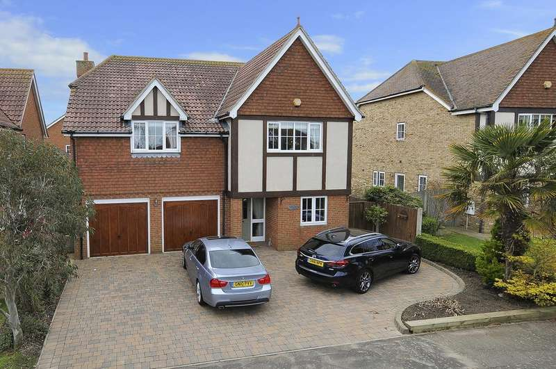 5 Bedrooms Detached House for sale in Mandarin Lane, Herne Bay, Kent
