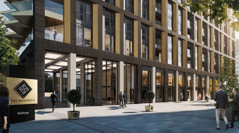 3 Bedrooms Apartment Flat for sale in The Residence, Nine Elms