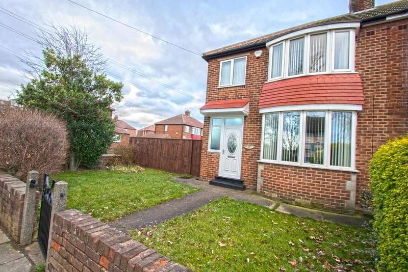 3 Bedrooms Semi Detached House for sale in Farndale Road TS4