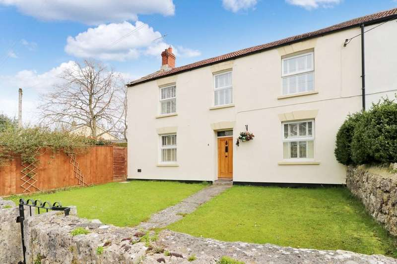 4 Bedrooms Semi Detached House for sale in Middle Street, Ashcott