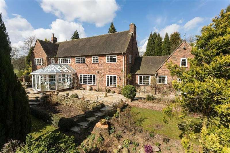 6 Bedrooms Detached House for sale in Chelford Road, Prestbury