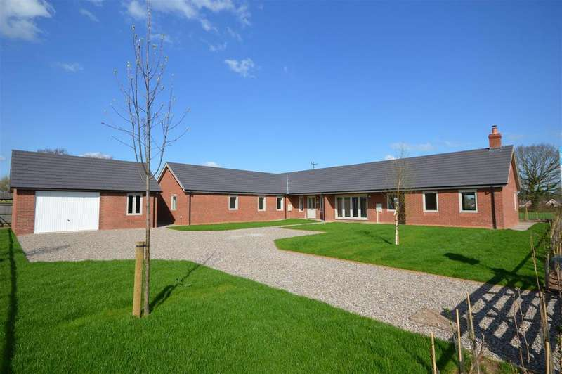 4 Bedrooms Detached Bungalow for sale in Breinton Lane, Swainshill, Hereford