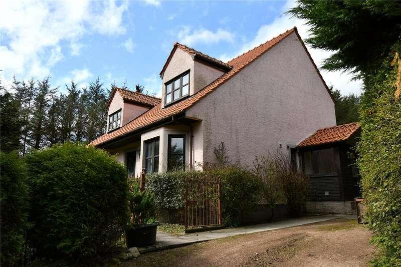 3 Bedrooms Detached House for rent in Wester Logie Farm House, Logie, Cupar, Fife, KY15