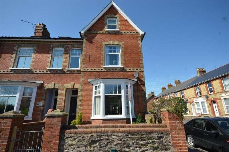 4 Bedrooms End Of Terrace House for sale in Kingston Road, Taunton