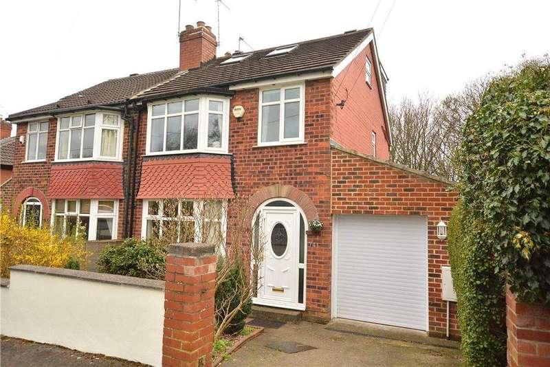 4 Bedrooms Semi Detached House for sale in Ridgeway, Roundhay, Leeds