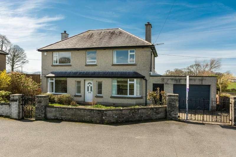 4 Bedrooms Detached House for sale in Ffrwd Cae Du, Bontnewydd, Gwynedd