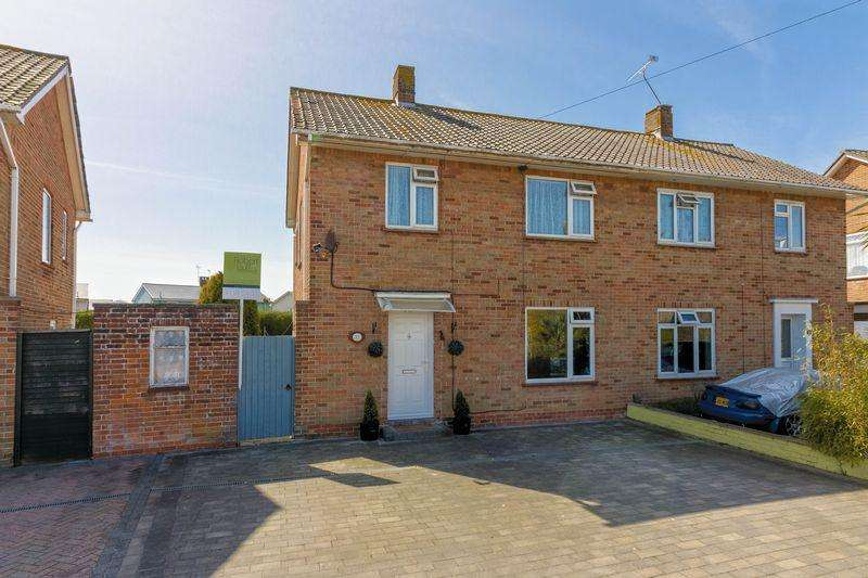 3 Bedrooms Semi Detached House for sale in Raleigh Way, Worthing