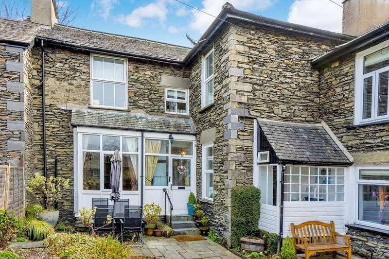 3 Bedrooms Cottage House for sale in 10 Knotts View, Hazel Street, Windermere, Cumbria, LA23 1EL