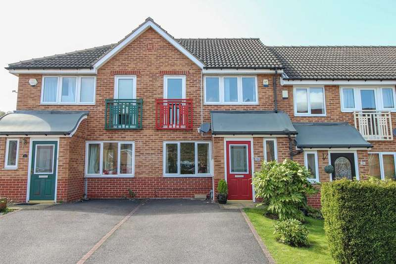 3 Bedrooms Town House for sale in Wain Avenue, Chesterfield