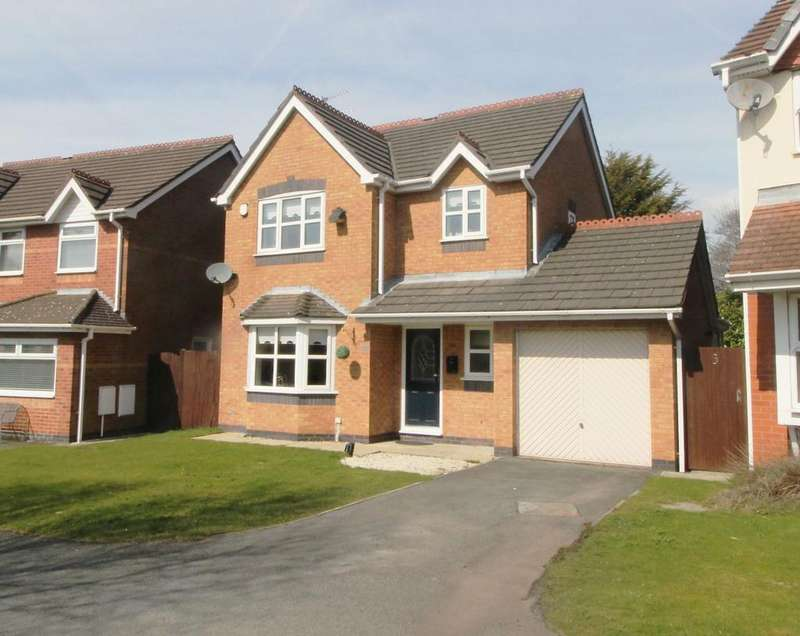 3 Bedrooms Detached House for sale in Foxhunter Drive