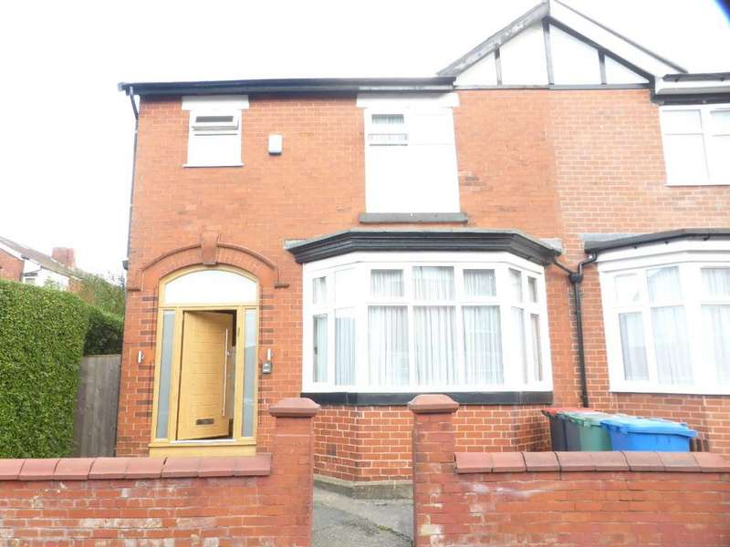 3 Bedrooms Semi Detached House for sale in Hardman Ave, Prestwich, M25 0HB